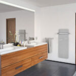 porta asciugamani per pannelli scaldanti